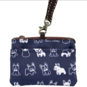 Waterproof Frenchie Coin Purse & Card Pouch Holder